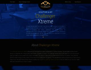 challengerxtremepooltables.com.au screenshot