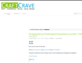 challenges.craftcrave.com screenshot