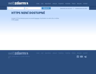 chalupy.wz.cz screenshot