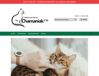 chamaniak.com screenshot