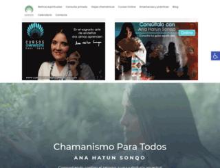chamanismoparatodos.com screenshot