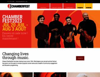 chamberfest.com screenshot