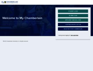 chamberlainonline.net screenshot