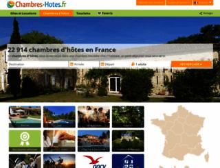 chambres-hotes.fr screenshot