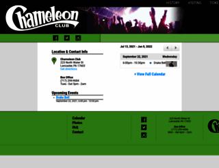 chameleonclub.net screenshot