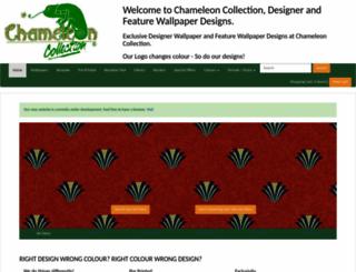 chameleoncollection.co.uk screenshot