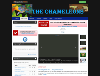 chameleons.bramptonnorthsoccer.com screenshot