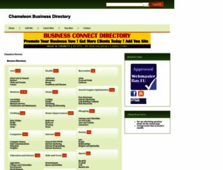 chameleonwebservices.com screenshot