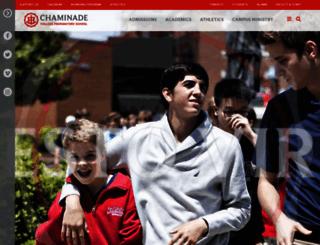 chaminade-stl.org screenshot