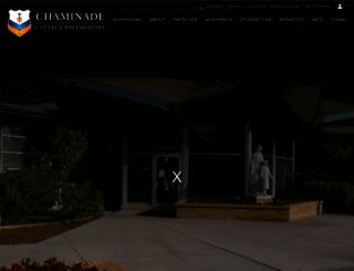 chaminade.org screenshot