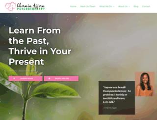 chaminajjan.com screenshot