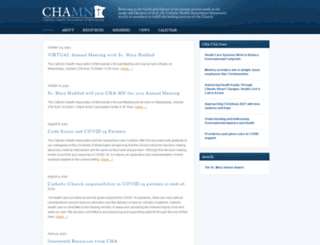 chamn.org screenshot