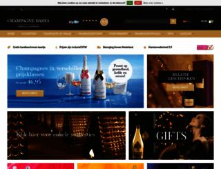 champagnebabes.nl screenshot