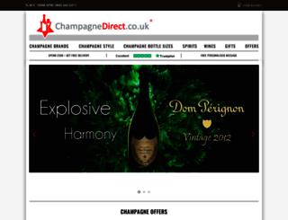 champagnedirect.co.uk screenshot