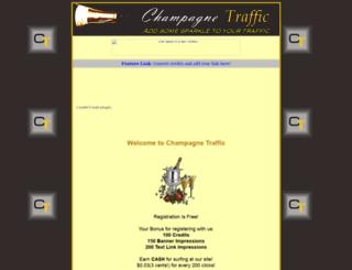 champagnetraffic.com screenshot