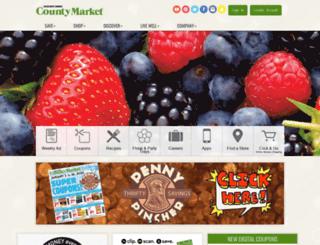 champaign-west-kirby.mycountymarket.com screenshot