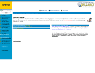championaccess.net screenshot