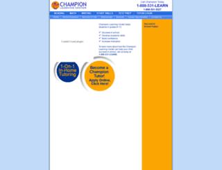 championlearning.com screenshot