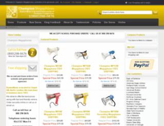 championmegaphone.com screenshot