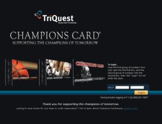championscard.com screenshot