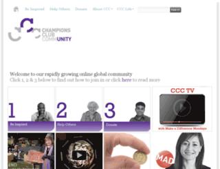 championsclubcommunity.com screenshot