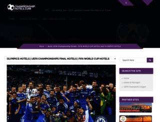 championshiphotels.com screenshot