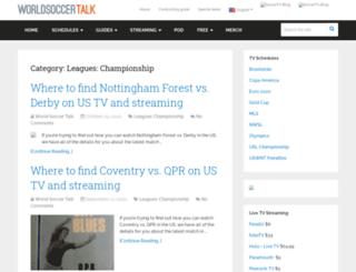 championshiptalk.com screenshot
