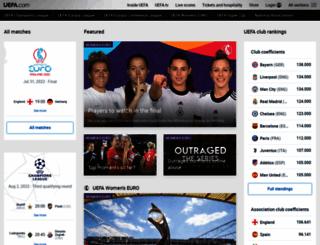 championsleague.com screenshot