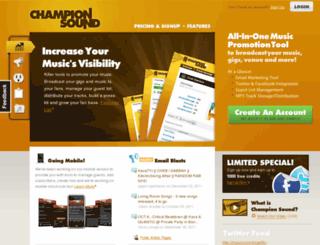 championsound.com screenshot