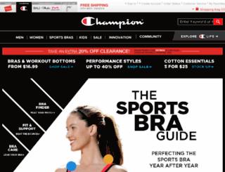 championsportsbras.com screenshot