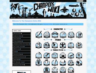 championswiki.com screenshot