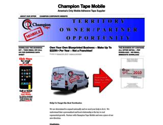 championtapedelivery.com screenshot
