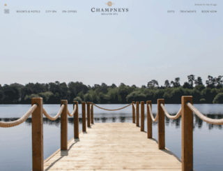 champneys.co.uk screenshot