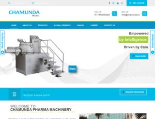chamunda.in screenshot