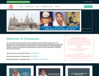 chanasma.org screenshot
