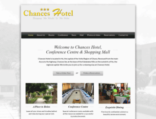chanceshotel.com screenshot