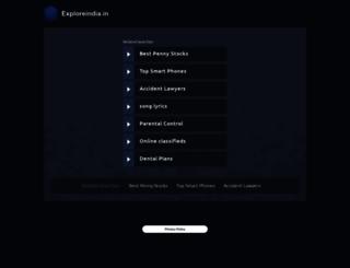 chandigarh.exploreindia.in screenshot
