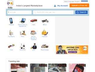 chandigarhcity.olx.in screenshot