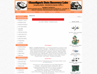 chandigarhdatarecovery.com screenshot