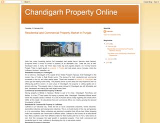 chandigarhpropertyonline.blogspot.in screenshot