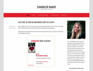 chandlermariecraig.wordpress.com screenshot