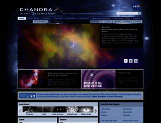 chandra.si.edu screenshot