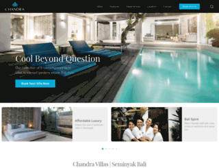 chandrabalivillas.com screenshot