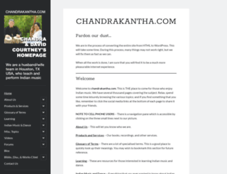 chandrakantha.com screenshot