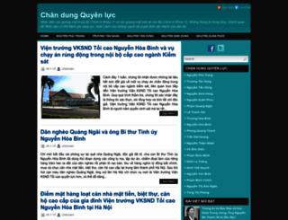 chandungquyenluc.blogspot.fr screenshot