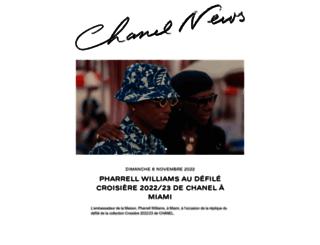 chanel-news.chanel.com screenshot