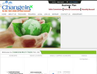 changein.org screenshot