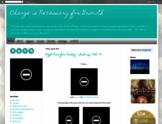 changeisnecessaryforgrowth.blogspot.com screenshot