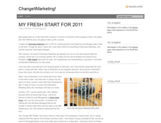 changeitmarketing.com screenshot