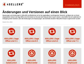 changelog.4sellers.de screenshot